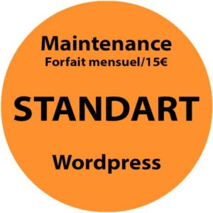 Maintenance WordPress Standart