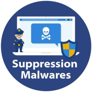 Suppression des malwares